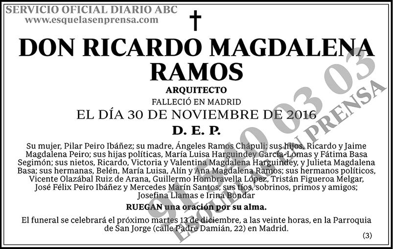 Ricardo Magdalena Ramos